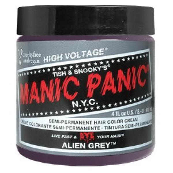 マニックパニック エイリアングレー 118ml ALIEN GREY MC11061 (MANIC PANIC ヘアカラー マニパニ グレイ イベント ハロウィン コスプレ)(メール便送料無料)|escoshop|04