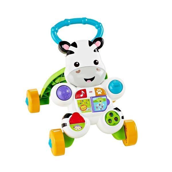フィッシャープライス おして!しまうまくんのバイリンガル・ウォーカー おもちゃ こども 子供 知育 勉強 ベビー 0歳3ヶ月