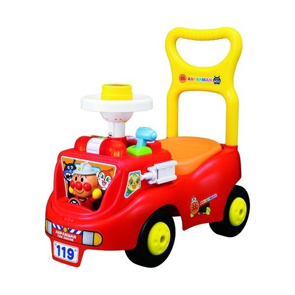 アンパンマンじゃかじゃか消防車おもちゃこども子供知育勉強1歳6ヶ月