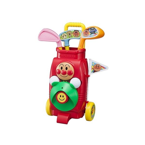 アンパンマンゴルフカートセットおもちゃこども子供知育勉強3歳