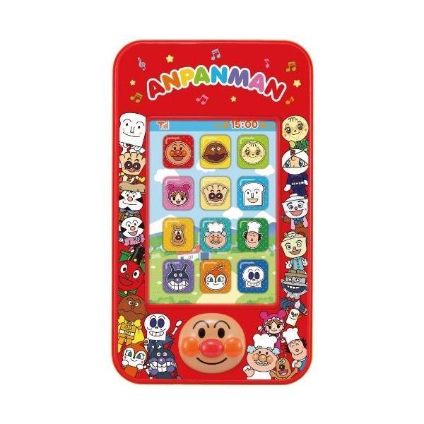 アンパンマン3モードでにこにこスマートフォンおもちゃこども子供知育勉強3歳