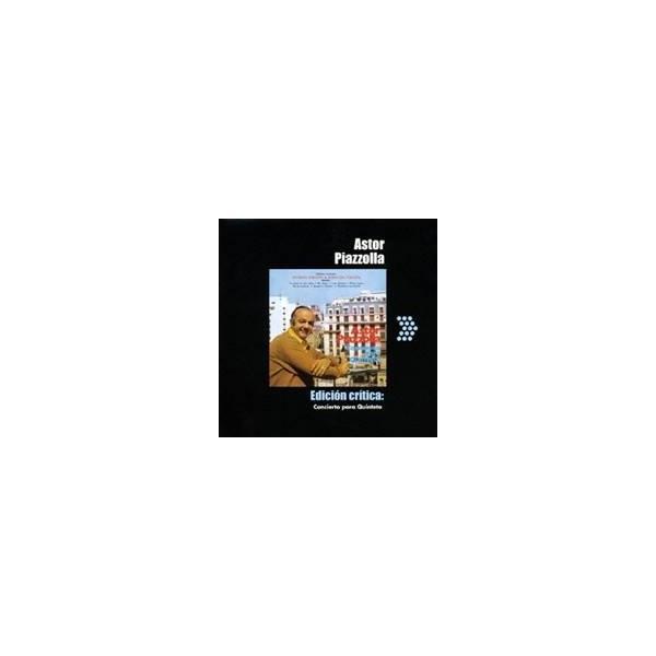 アストル・ピアソラ/五重奏のためのコンチェルト 【CD】