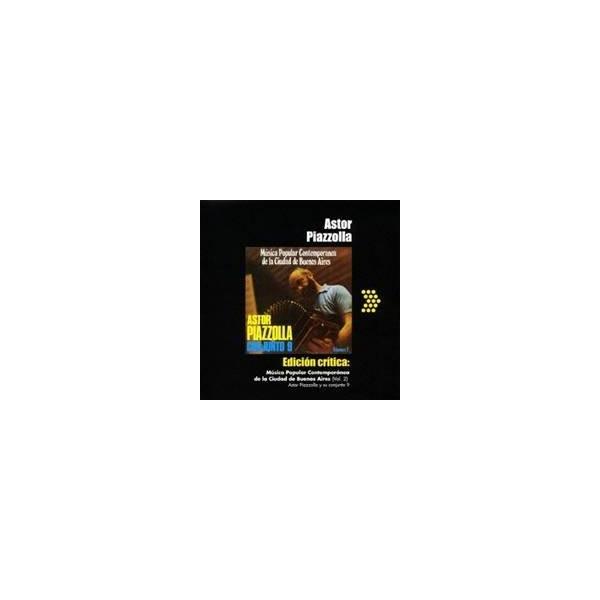 アストル・ピアソラとコンフント9/ブエノスアイレス市の現代ポピュラー音楽 第二集 【CD】