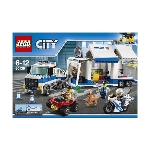 LEGO60139シティポリストラック司令本部おもちゃこども子供レゴブロック6歳