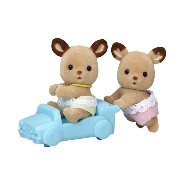 シルバニアファミリー シ-69 シカのふたごちゃんおもちゃ こども 子供 女の子 人形遊び 3歳