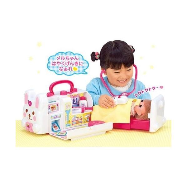 メルちゃんおしゃべりいっぱいうさぎさんきゅうきゅうしゃおもちゃこども子供女の子人形遊び小物