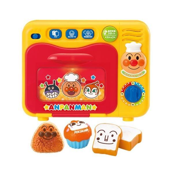 チン してできあがりおしゃべりオーブンレンジおもちゃこども子供女の子ままごとごっこアンパンマン