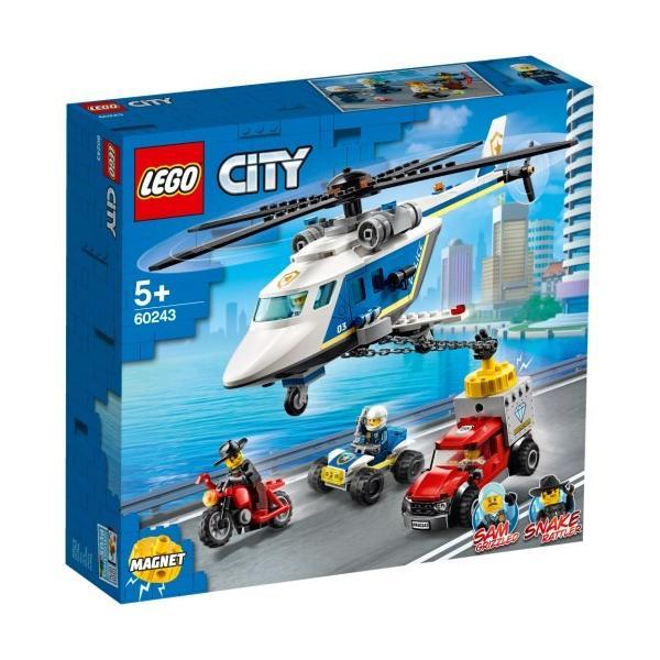 レゴLEGO60243ポリスヘリコプターの追跡おもちゃこども子供レゴブロック