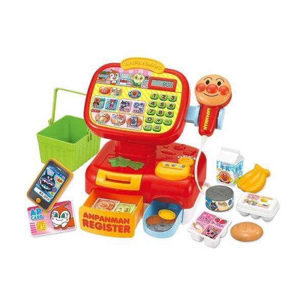 アンパンマンおさつスイスイ セルフでピピッ アンパンマンレジスターおもちゃこども子供女の子ままごとごっこ1歳6ヶ月
