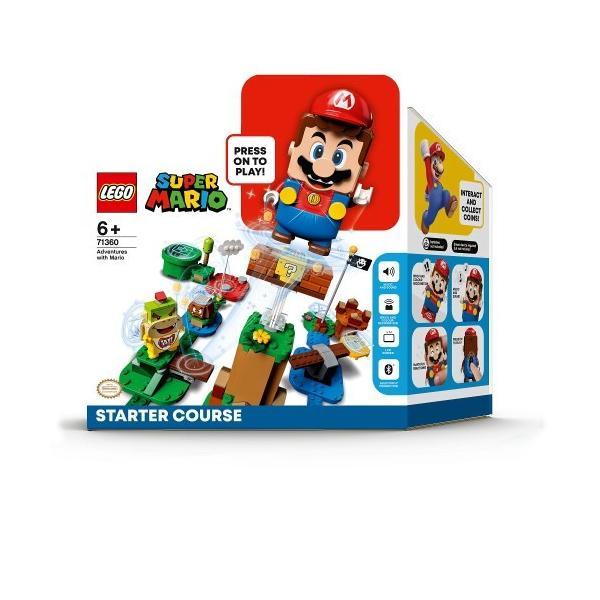 LEGOレゴマリオとぼうけんのはじまりスターターセット71360おもちゃこども子供レゴブロック6歳
