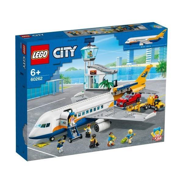 LEGOレゴシティパッセンジャーエアプレイン60262おもちゃこども子供レゴブロック6歳