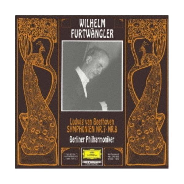 ヴィルヘルム・フルトヴェングラー/ベートーヴェン:交響曲第7番・第8番 (初回限定) 【CD】