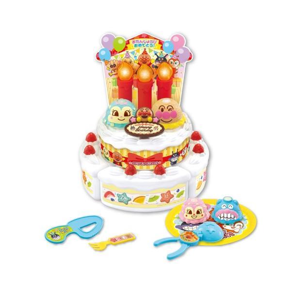 ろうそくフー アンパンマンバースデーアイスケーキセットおもちゃこども子供知育勉強3歳