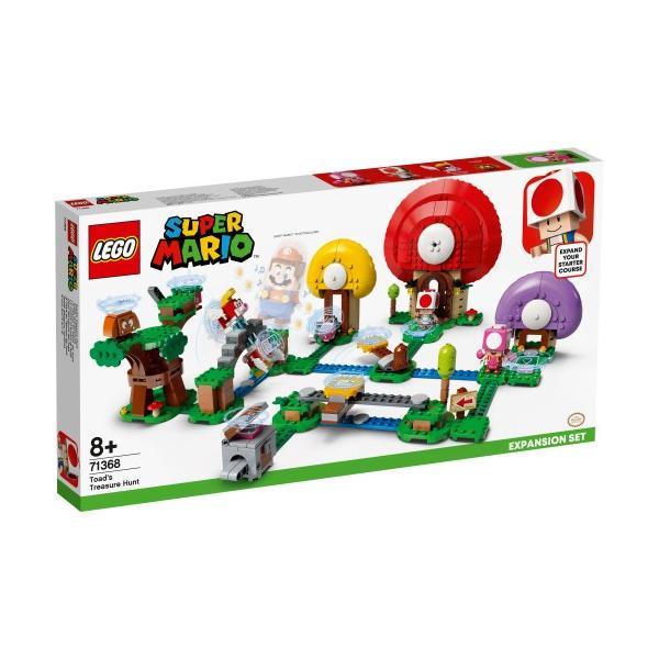 LEGOレゴスーパーマリオキノピオと宝さがし71368おもちゃこども子供レゴブロック