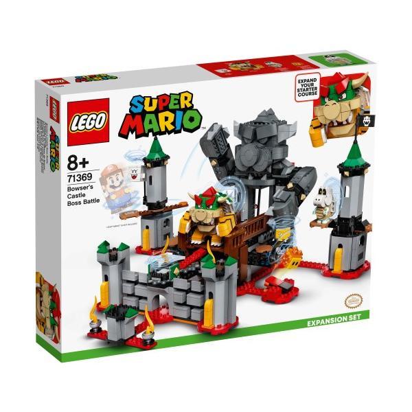 LEGOレゴスーパーマリオけっせんクッパ城 チャレンジ71369おもちゃこども子供レゴブロック