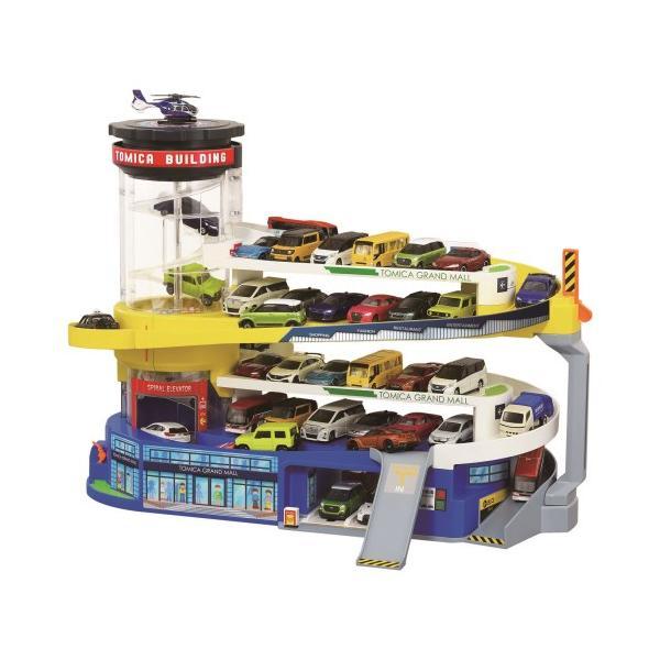 ダブルアクショントミカビル(50周年記念特別仕様)おもちゃこども子供男の子ミニカー車くるま