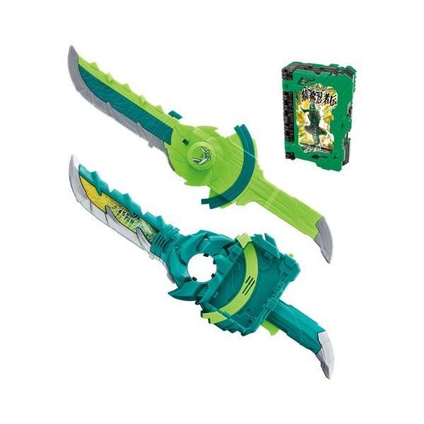 仮面ライダーセイバー変身聖剣DX風双剣翠風おもちゃこども子供男の子3歳