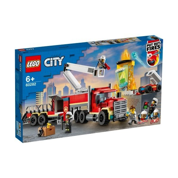LEGOレゴシティ消防指令基地60282おもちゃこども子供レゴブロック3歳