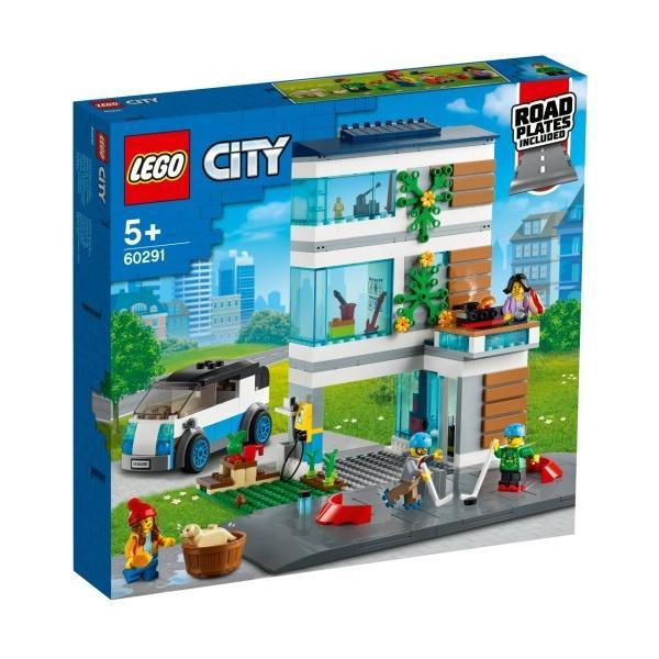 LEGOレゴシティモダンハウスロードプレート付60291おもちゃこども子供レゴブロック3歳