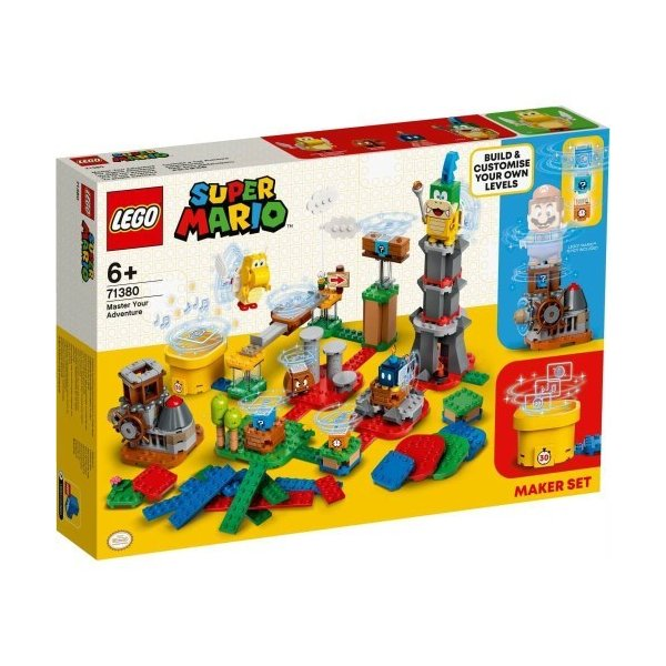 LEGOレゴスーパーマリオコースマスターチャレンジ71380おもちゃこども子供レゴブロック3歳