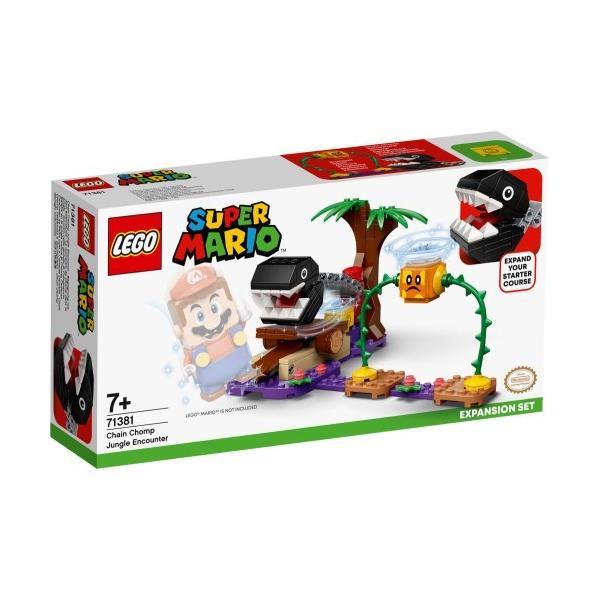 LEGOレゴスーパーマリオワンワンのとつげき チャレンジ71381おもちゃこども子供レゴブロック3歳