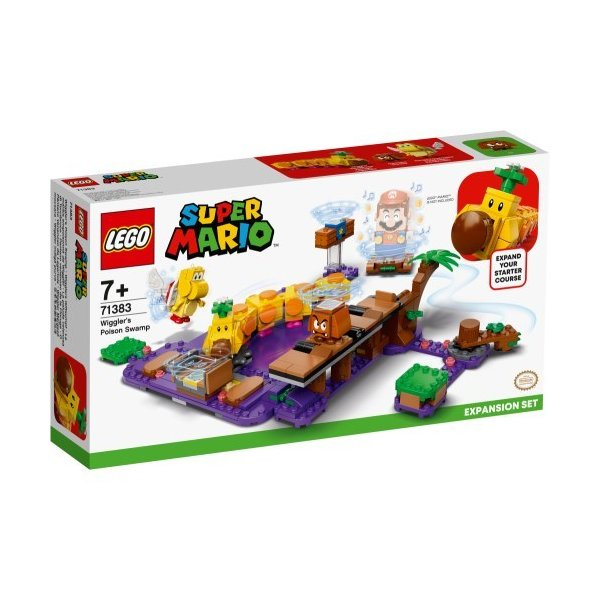 LEGOレゴスーパーマリオハナチャンとフリフリアクションチャレンジ71383おもちゃこども子供レゴブロック3歳