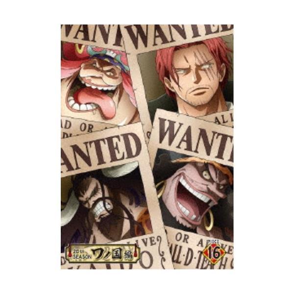 ONEPIECEワンピース20THシーズンワノ国編PIECE.16 DVD