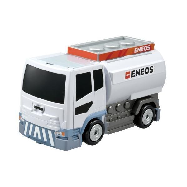 トミカワールドぶるっと給油 おしごと変形ガソリンスタンドENEOS(スペシャルトミカつき)おもちゃこども子供男の子ミニカー車くる