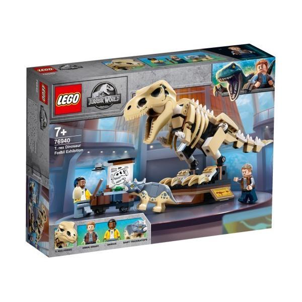 LEGO レゴ ジュラシックワールド T-レックスの大化石展  76940おもちゃ こども 子供 レゴ ブロック 7歳