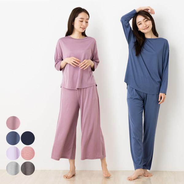 シルク100%ジャージー パジャマ 日本製 シルク100%パジャマ シルクパジャマ 長袖 冷え取り ...