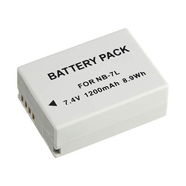 NinoLite NB-7L 互換 バッテリー キャノン PowerShot G10 G11 G12 SX30 IS 対応