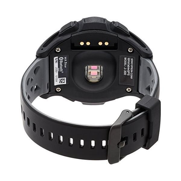 EPSON WristableGPS 腕時計 GPSランニングウォッチ 脈拍計測 J-300B eshop-smart-market 02