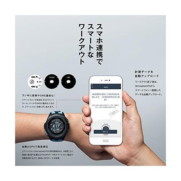 EPSON WristableGPS 腕時計 GPSランニングウォッチ 脈拍計測 J-300B eshop-smart-market 05