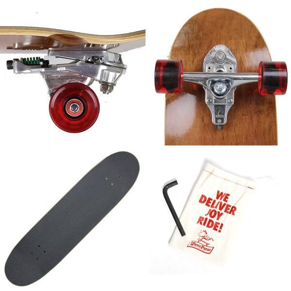 WOODY PRESS スケートボード ウッディプレス サーフスケート スラスター3 コンプリート 36インチ BROWN WPC-002|eshop|02