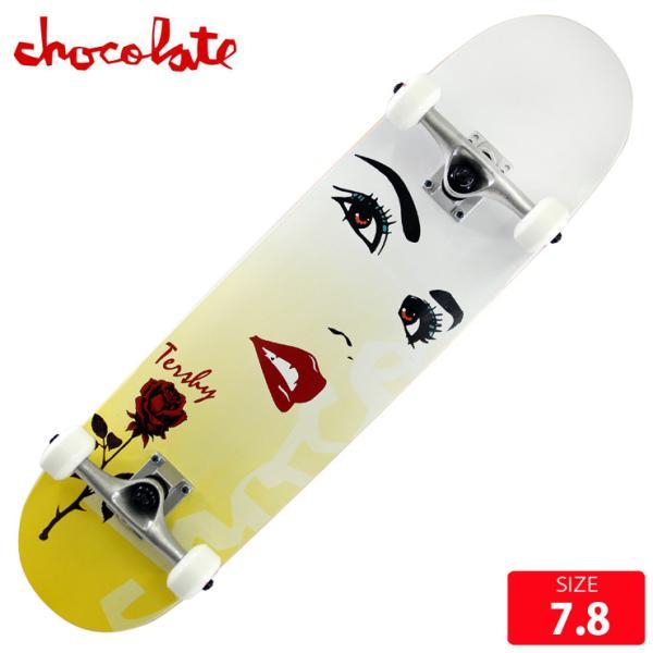 スケボー コンプリート チョコレート CHOCOLATE RAVEN TERSHY COMPLETE DECK サイズ 7.8 完成品 組立て済 スケートボード