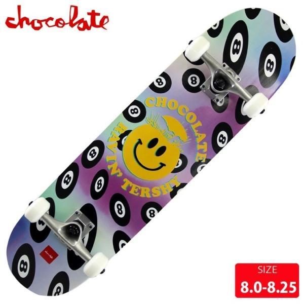 スケボー コンプリート チョコレート CHOCOLATE RAVEN TERSHY COMPLETE DECK サイズ 8.1 完成品 組立て済 スケートボード