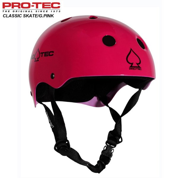 PROTEC プロテック ヘルメット HELMET CLASSIC SKATE GROSS PINK グロスピンク スケボー スケートボード インライン用