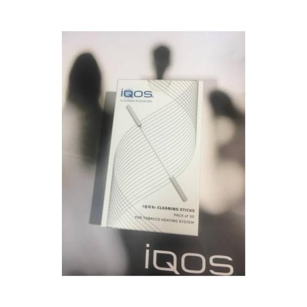 本体とご一緒にいかがでしょうか!アイコス アイコスクリーニングスティック IQOS CLEANING STICKS PACK of 30|esmart