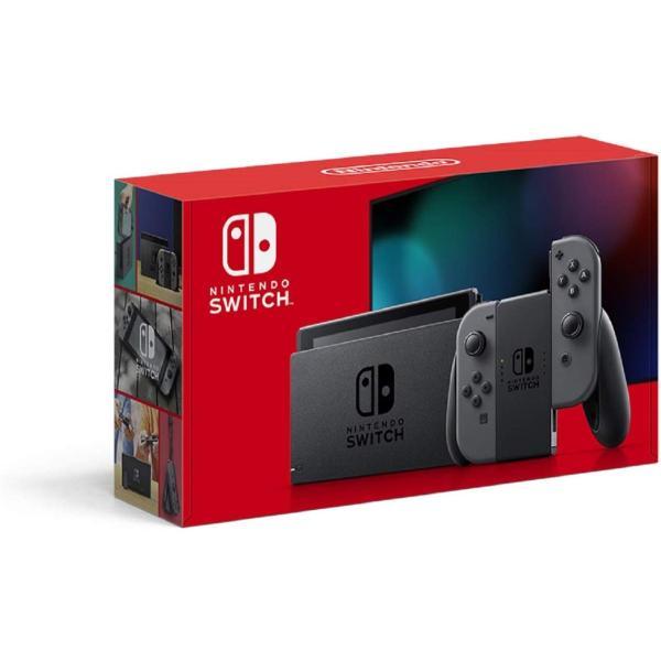 おうち時間ニンテンドースイッチ本体NintendoSwitch(L)/(R)グレーバッテリー強化版
