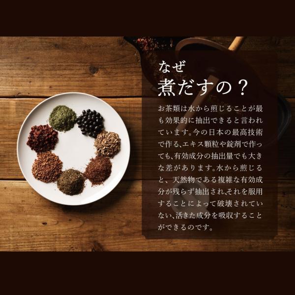 ダイエット 茶 漢方屋の ダイエットティー 七美茶 20包 トライアル|esora|09