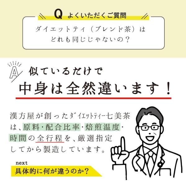 ダイエット お茶 七美茶 20包 トライアル 初回限定 タイムセール esora 12