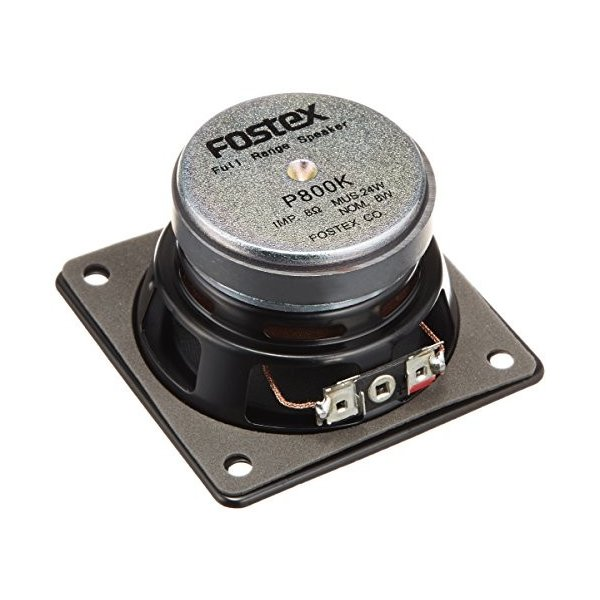 FOSTEX 8cm フルレンジ スピーカーユニット P800K