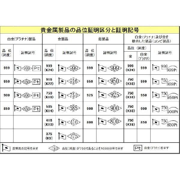 喜平ネックレス K18キヘイ 2面カット 20g-50cm.60cm 18金 メンズ レディース チェーン  espoir2006 02