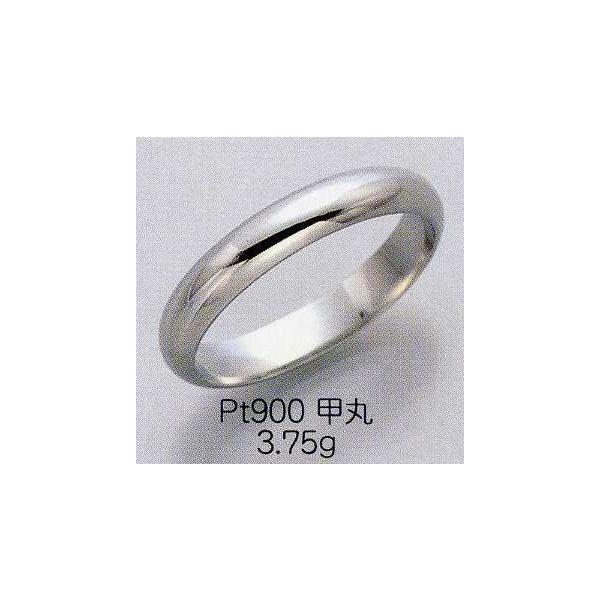 PT900 マリッジリング  シンプル甲丸タイプ|espoir2006