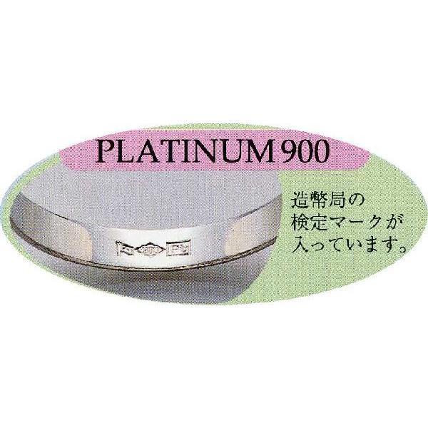 PT900 マリッジリング  シンプル甲丸タイプ|espoir2006|02