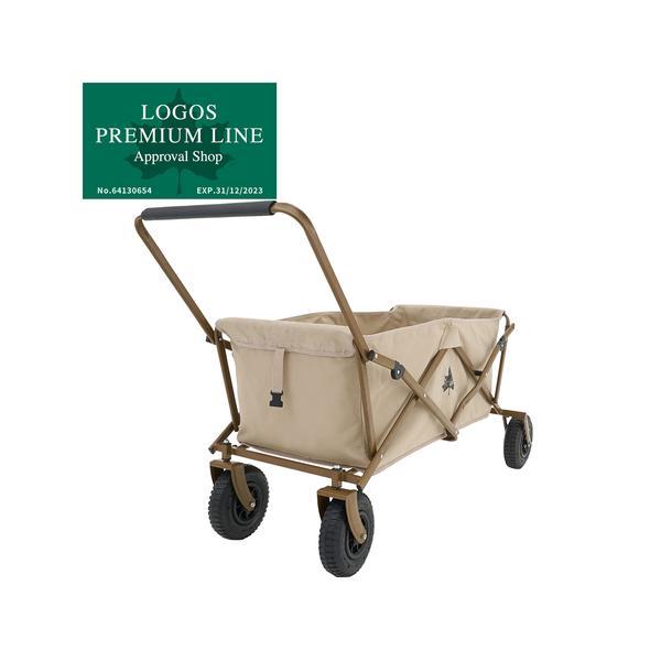 ロゴス(LOGOS) アウトドア Tradcanvas 丸洗いカーゴキャリー 84720722 キャリーカート 運搬 ピクニック
