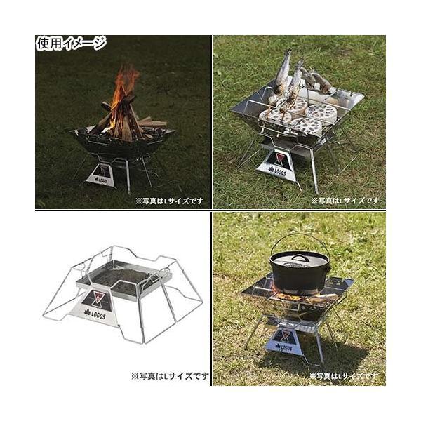 ロゴス(LOGOS) バーベキュー コンロ The ピラミッドTAKIBI ロゴスザピラミッド 焚き火 XL 81064161 たき火 焚火台 キャンプ アウトドア|esports|06