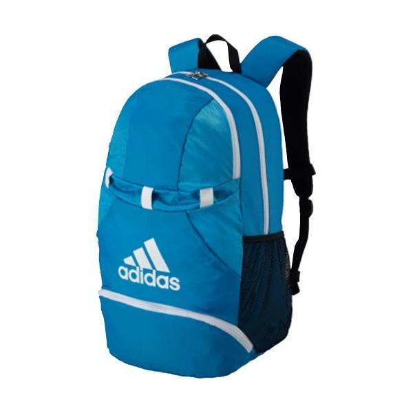 アディダス(adidas) サッカー フットサル ボール用デイパック 青×白 ADP28BW ボールバッグ バックパック リュック