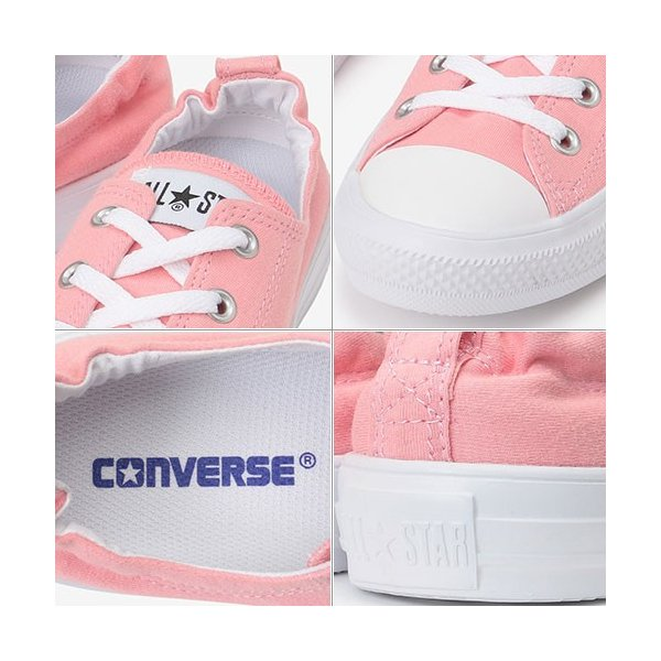 コンバース(CONVERSE) レディース スニーカー オールスター ライト イージースリップ ALL STAR LIGHT EASYSLIP SWT OX ピンク 32199032 カジュアルシューズ 靴