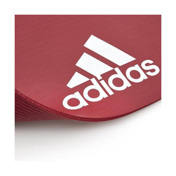 60a02d30ef9fd9 ... アディダス(adidas) エクササイズ用品 フィットネスマット 7mm レッド ADMT-11014RD ヨガマット フィットネス  エクササイズ ...